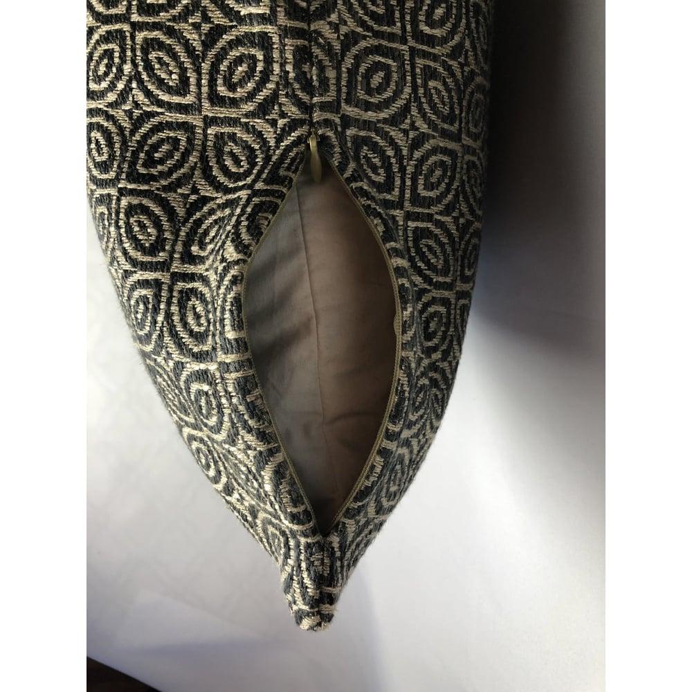 Brentano Modern Designer African Inspired Fabric Pillow