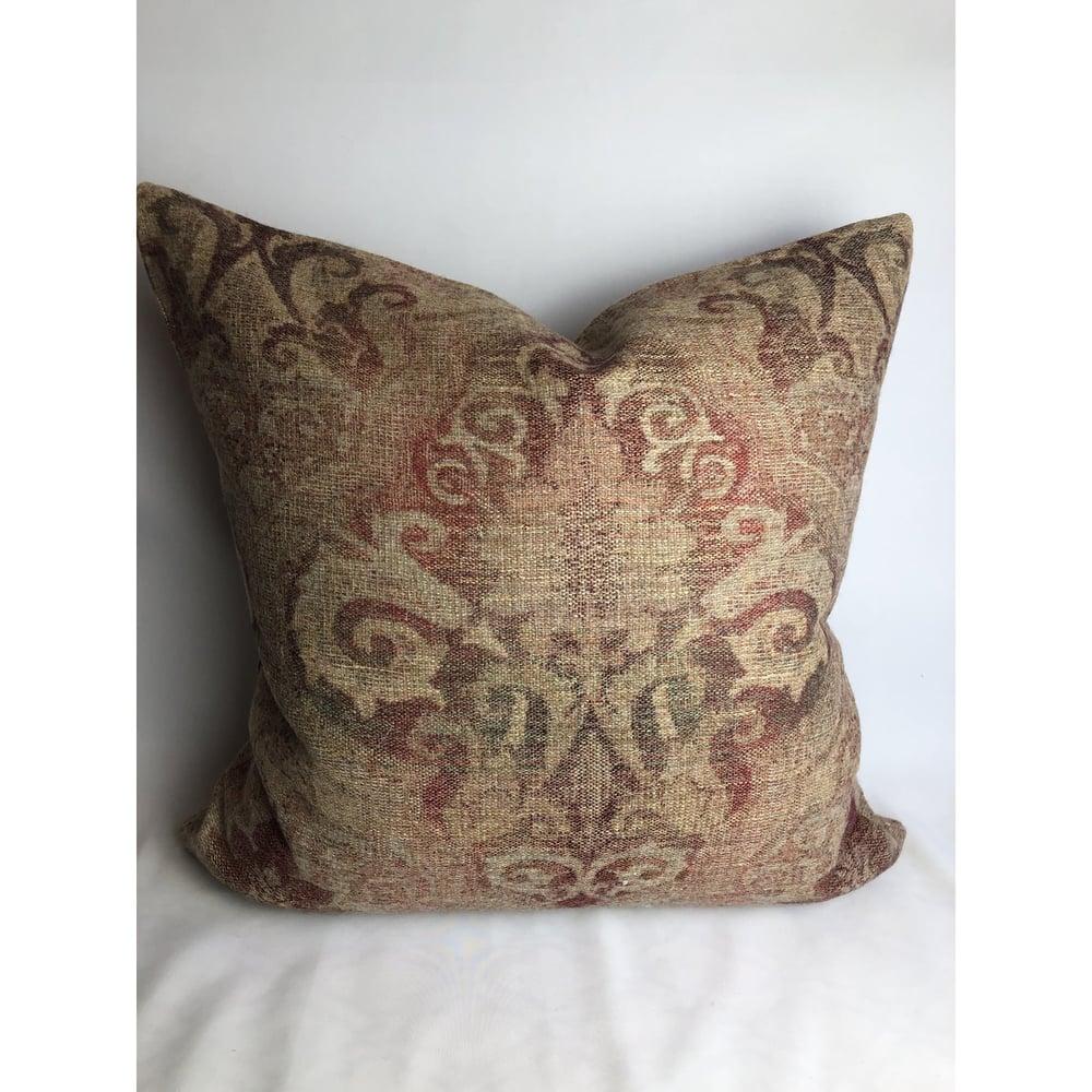 Scalamandre Old World Weavers Designer Fabric Pillow