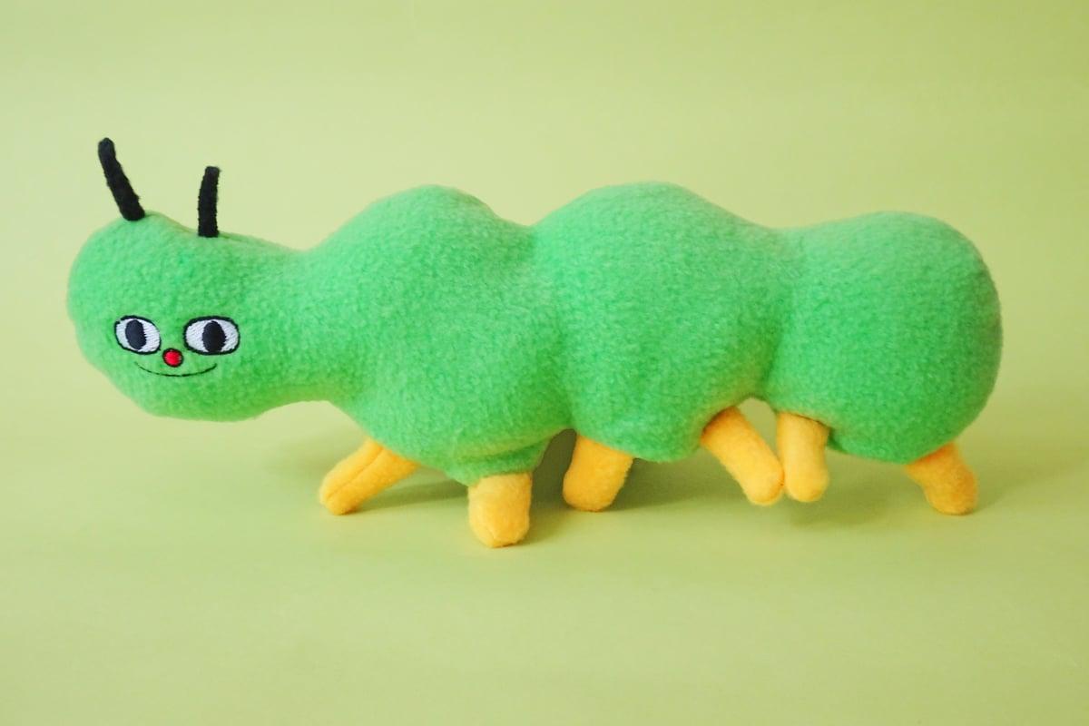 Image of Soft Sculpture Beastie - Caterpillar