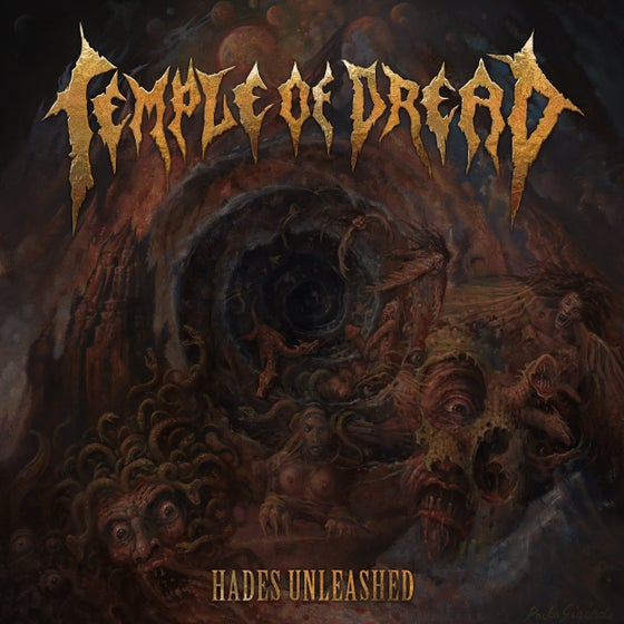 Image of Temple of Dread • Hades Unleashed (CD Jewelcase)