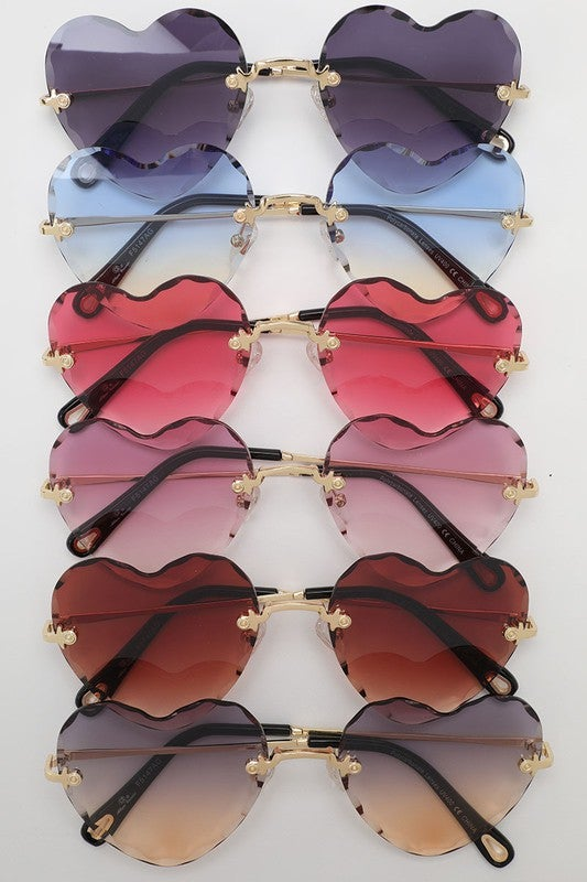 Image of Z Collection Heart Shaped Shades