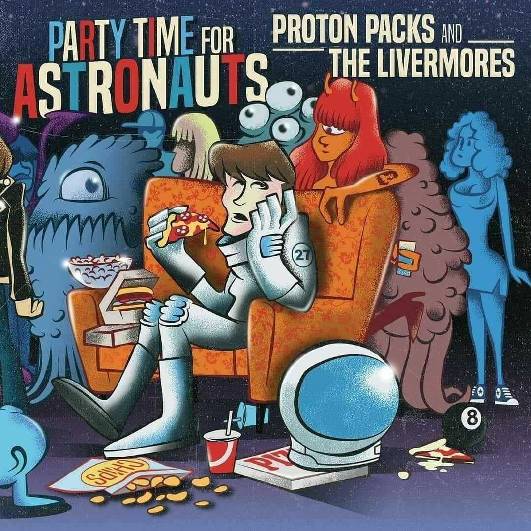"Image of Proton Packs/Livermores split 7"" ep"