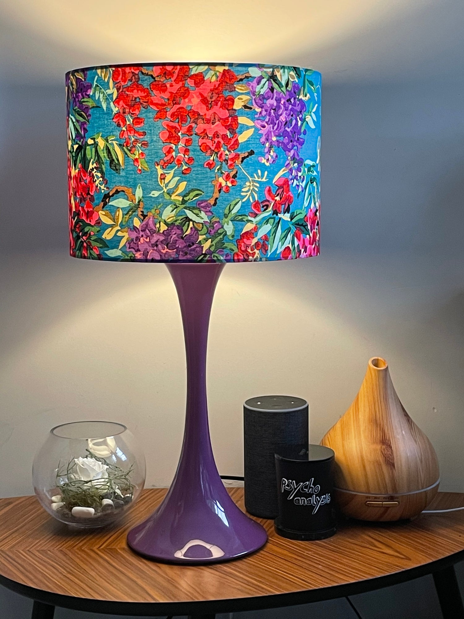 Image of Wisteria Teal Shade 30cm