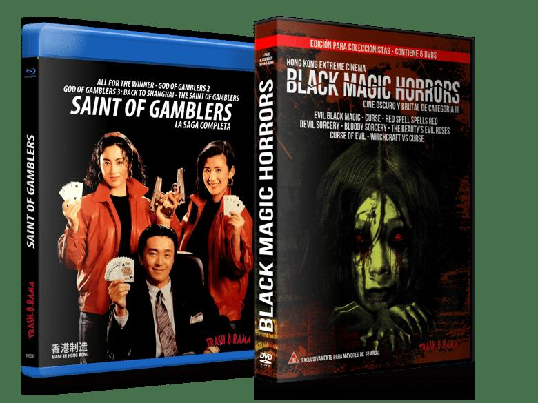 Image of COMBO SAINT OF GAMBLERS + BLACK MAGIC HORRORS