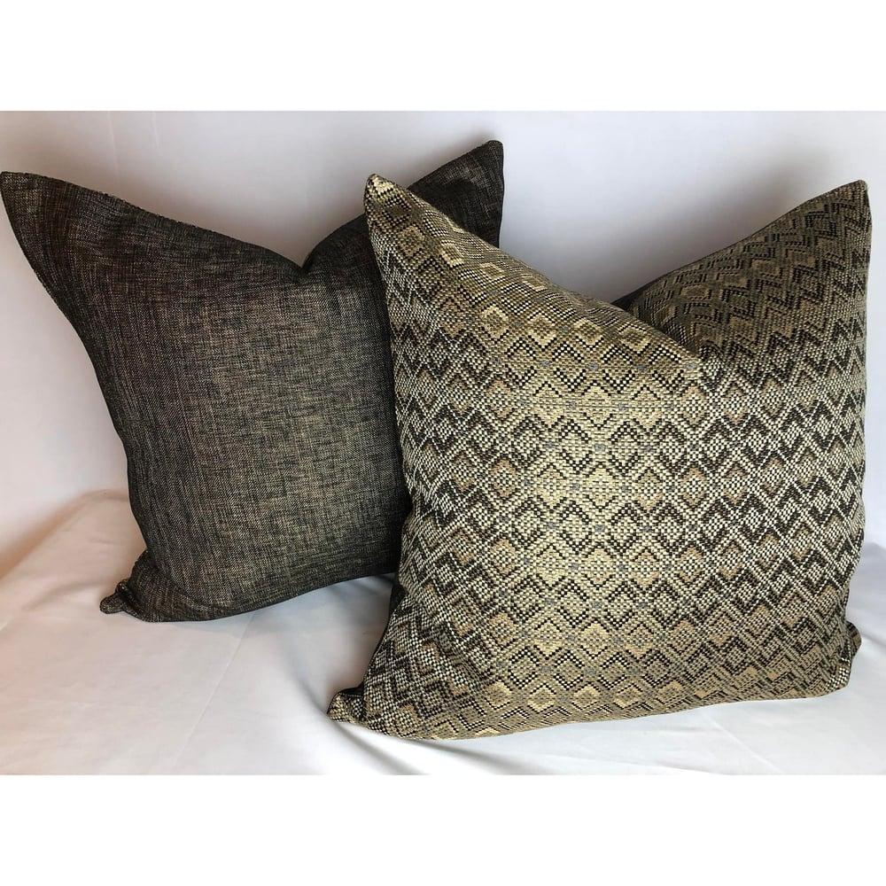 Pollack's Snake Charmer Contemporary Modern Designer Fabric Pillow