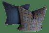 Mid-Century Modern Brunschwig & Fils Fabric Designer Pillows - Set of 2