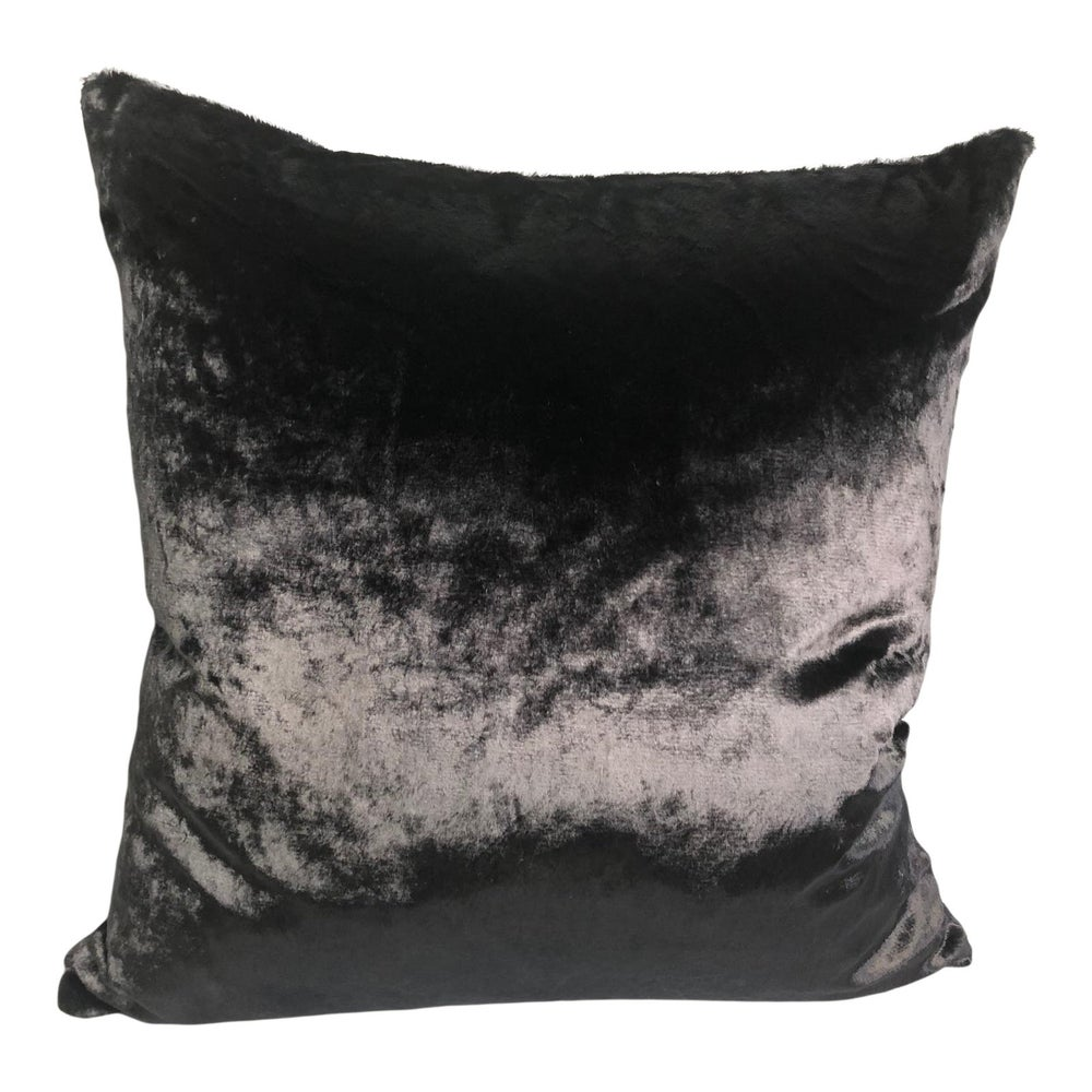 French Silk Mohair Designer Pillow With 90/10 Down Insert