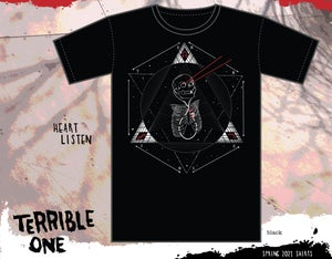 Image of Heart Listen T-shirts ( short and long sleeves )