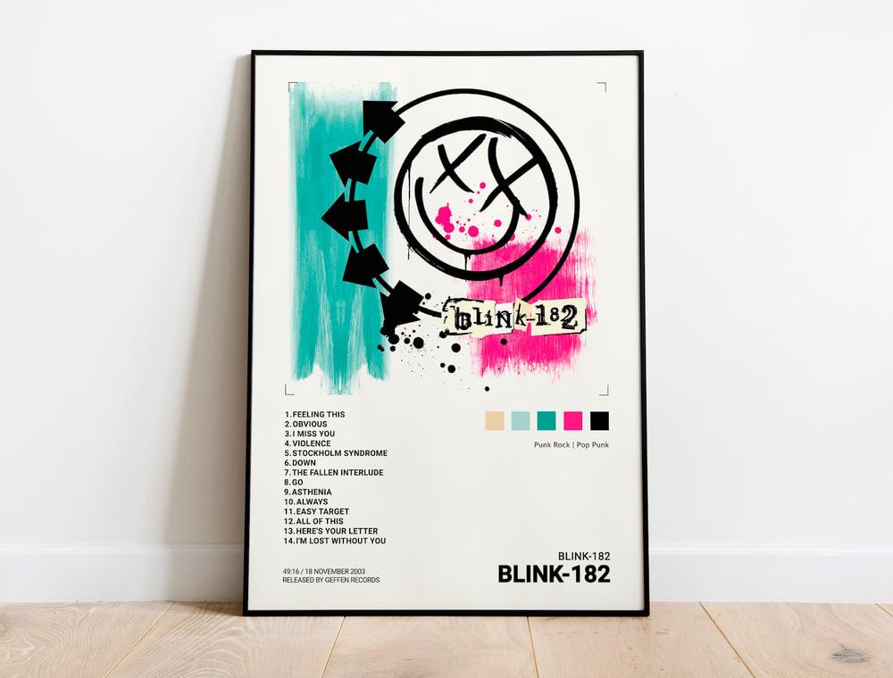 Blink-182 - Self Titled Album Cover Poster