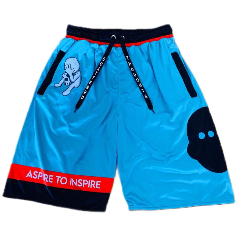 Image of Aspire to Inspire Basketball Shorts.