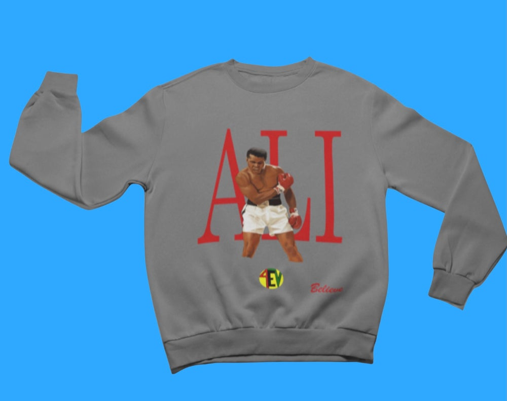Image of ALI [4EV SWEATSHIRT] (GREY)