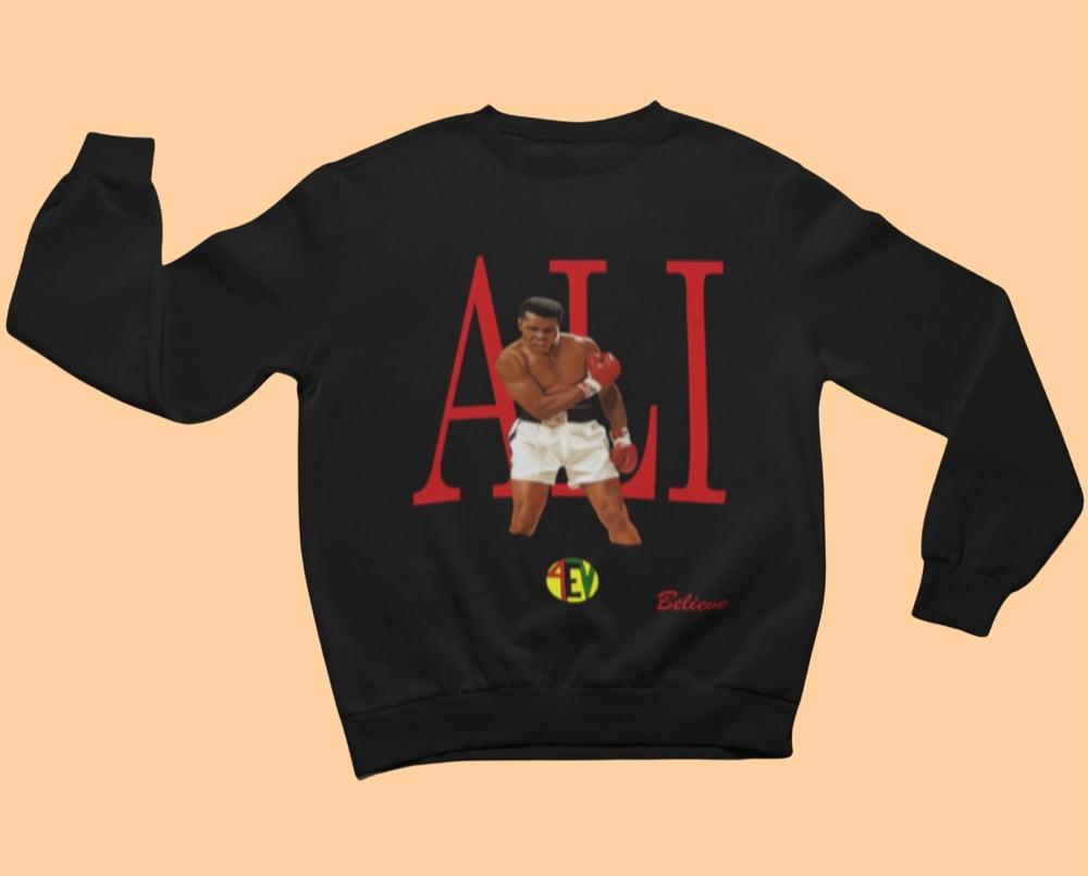 Image of ALI [4EV SWEATSHIRT] (BLACK)