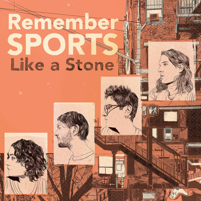 """Image of REMEMBER SPORTS - """"Like a Stone"""" LP"""