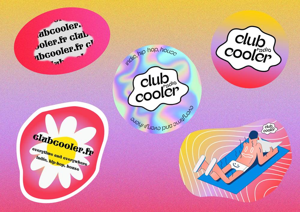 Image of Lot de 5 stickers