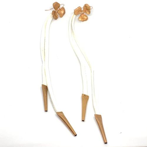 Image of Copper Bloom Earrings