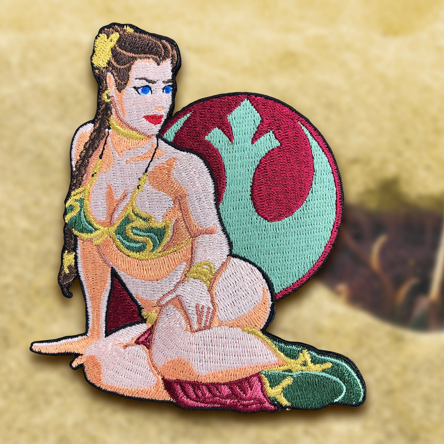 Image of Slave Leia Pinup Patch
