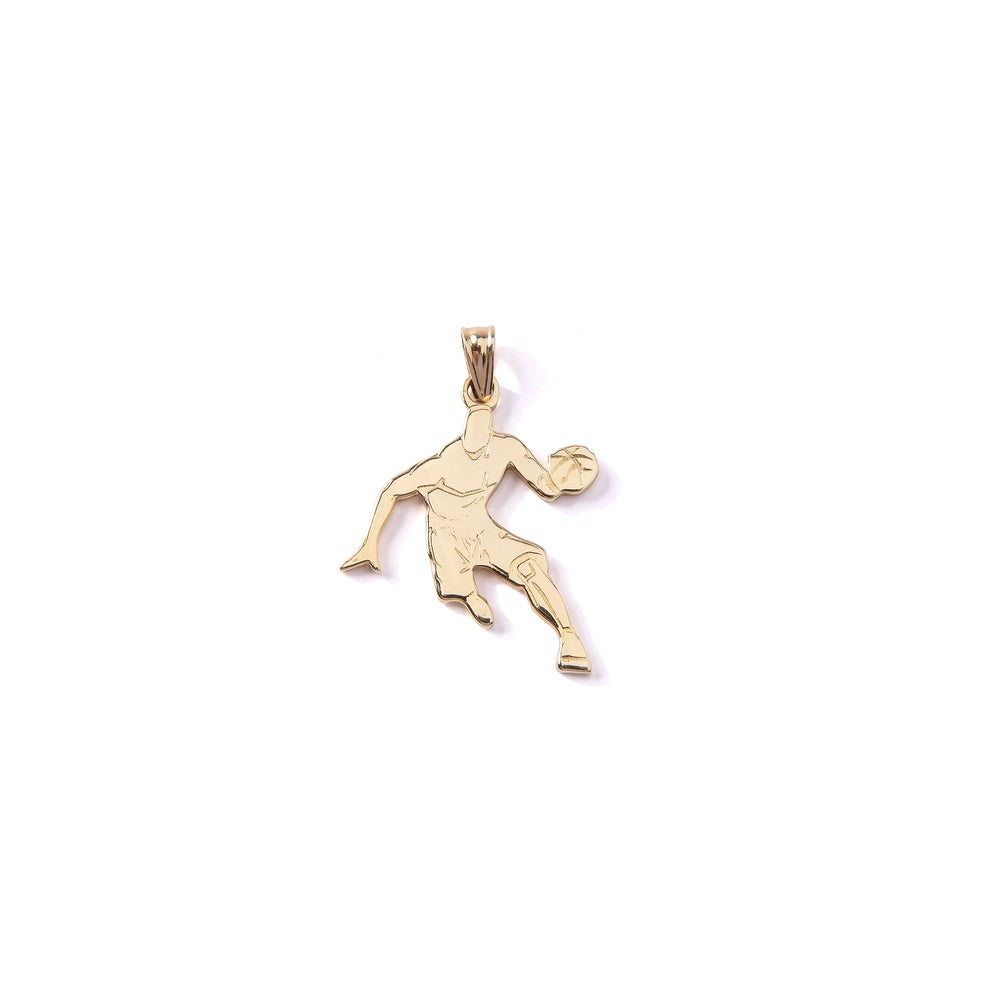 Image of 14K Crossover Pendant