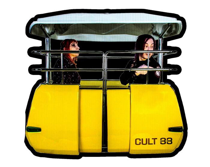 Image of The Disneyland PeopleMover Sticker