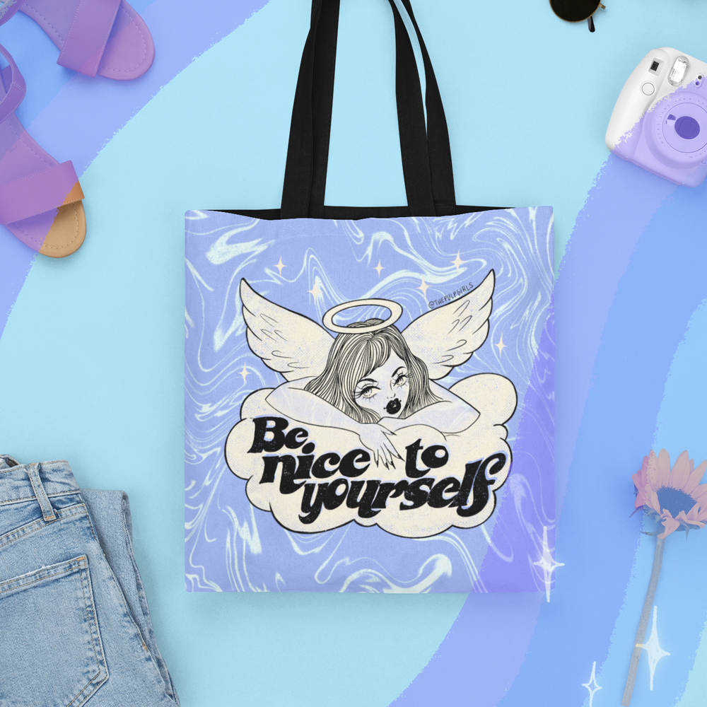 Image of BE NICE TO YOURSELF TOTE