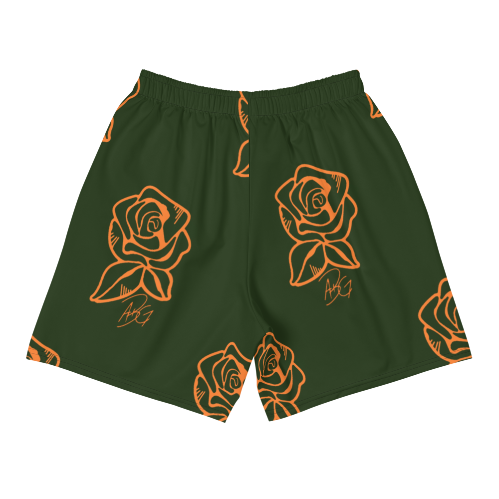 Image of Concrete Rose Shorts (Green)