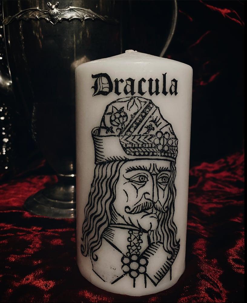 Image of Vlad Dracula Pillar Candle