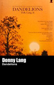 Image of Donny Lang - Dandelions (cassette)