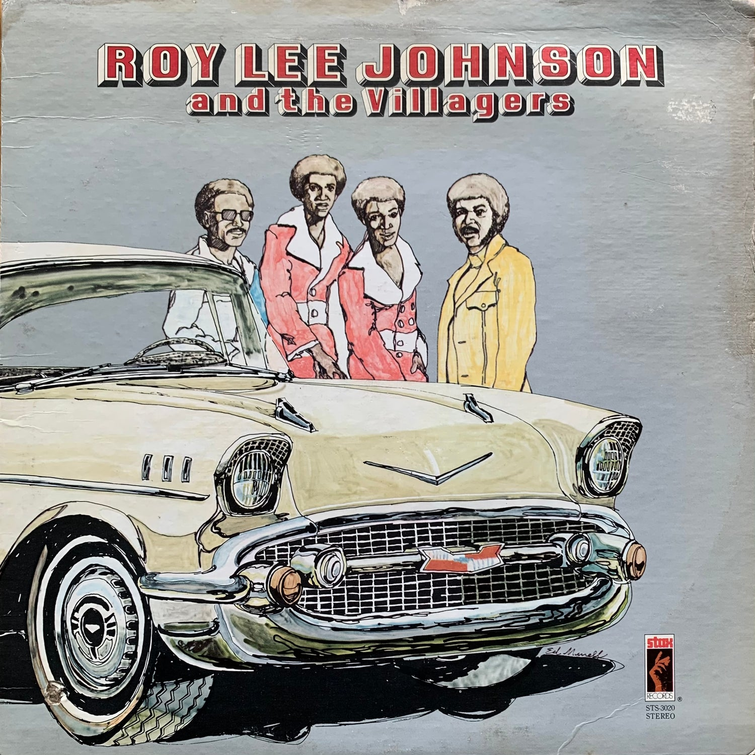 Roy Lee Johnson and the Villagers - Roy Lee Johnson & The Villagers (Stax - 1973)