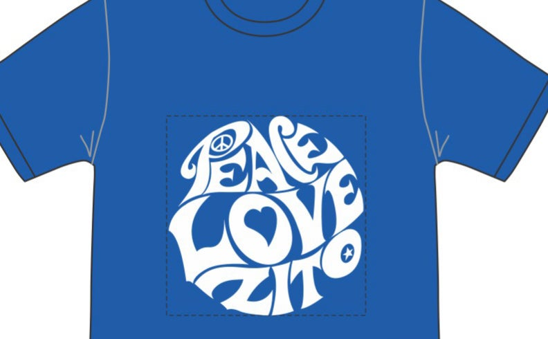 Image of Peace Love Zito - NEW