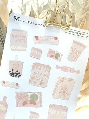 Image of Asian Snacks 2.0 Sticker Sheet