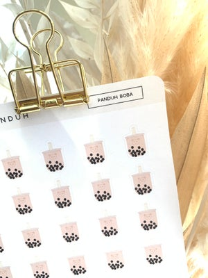 Image of Panduh Boba Sticker Sheet