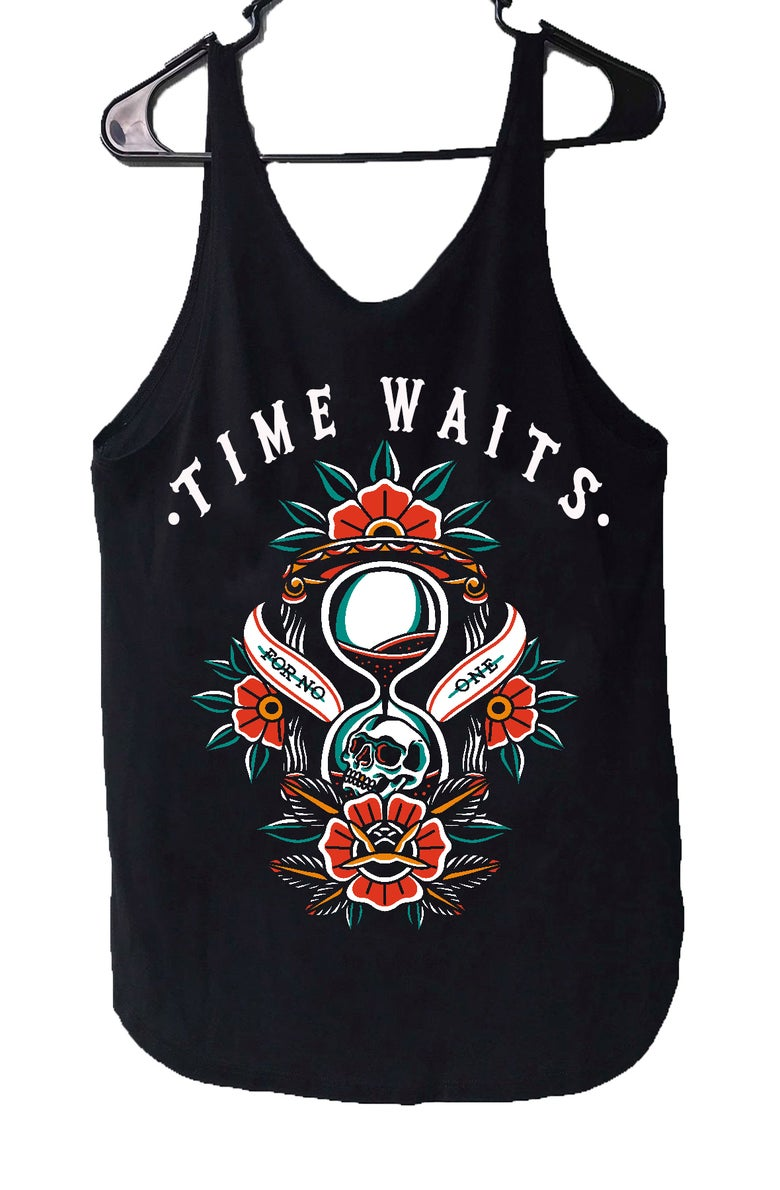 Image of TIME WAITS Womens Tank-Top