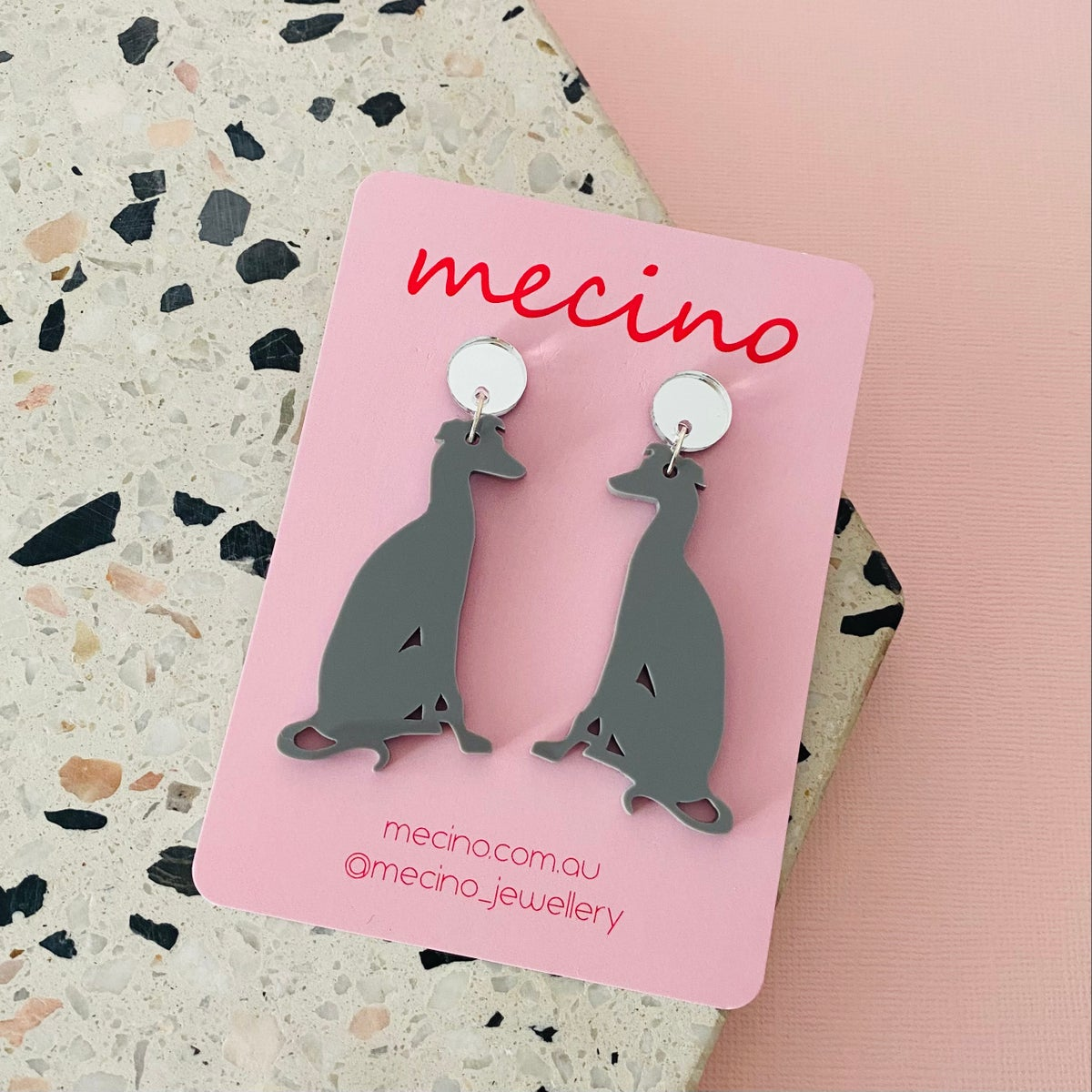 Image of Whippets - Grey / Silver