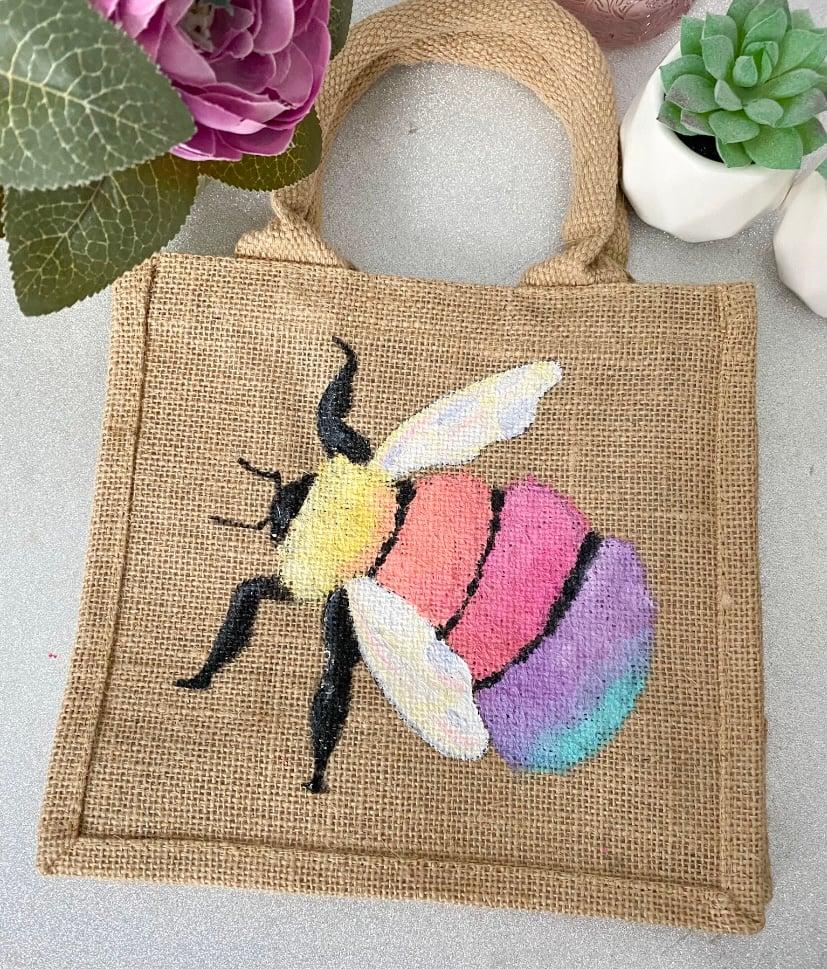 Image of Rainbow Bee Small Bag
