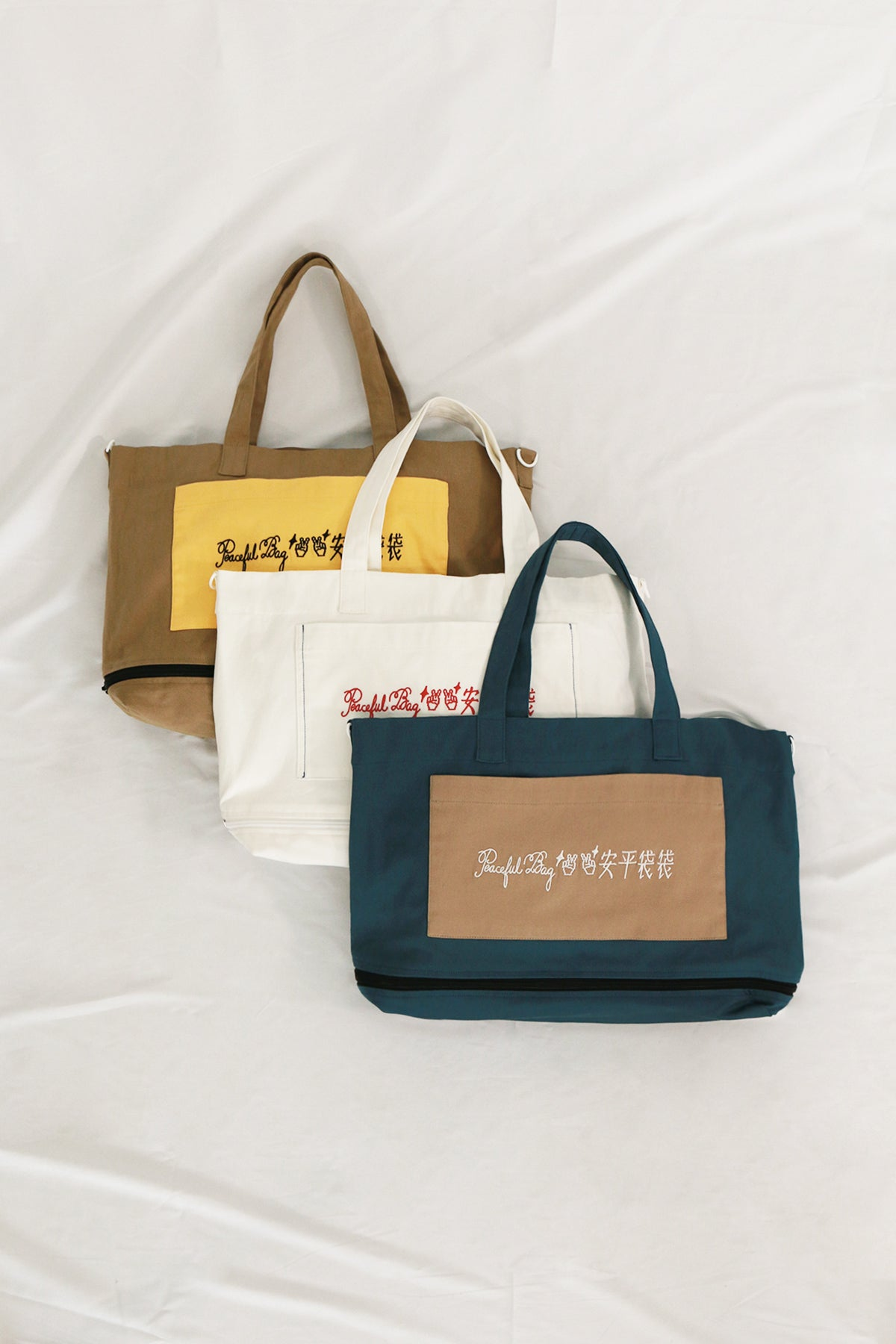Image of Wear Earthero x Slasssh Expandable Embroidered Tote