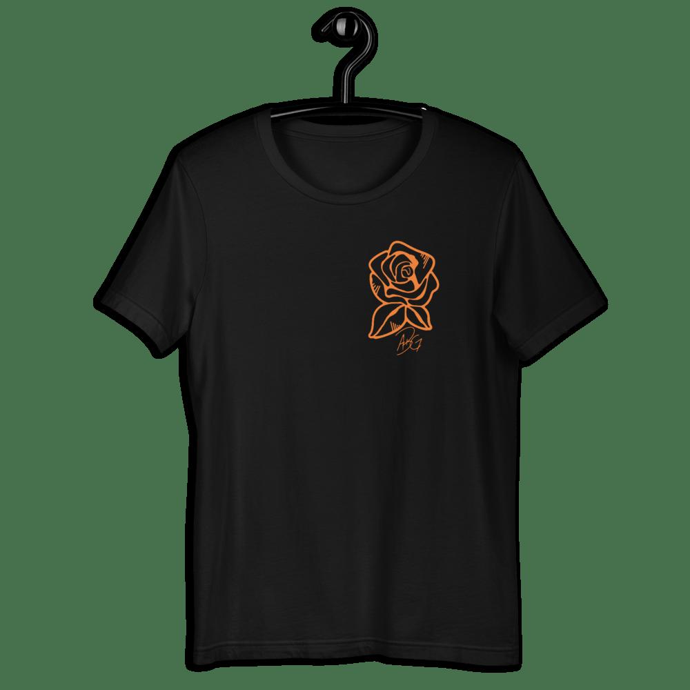 Image of Concrete Rose Black T-shirt