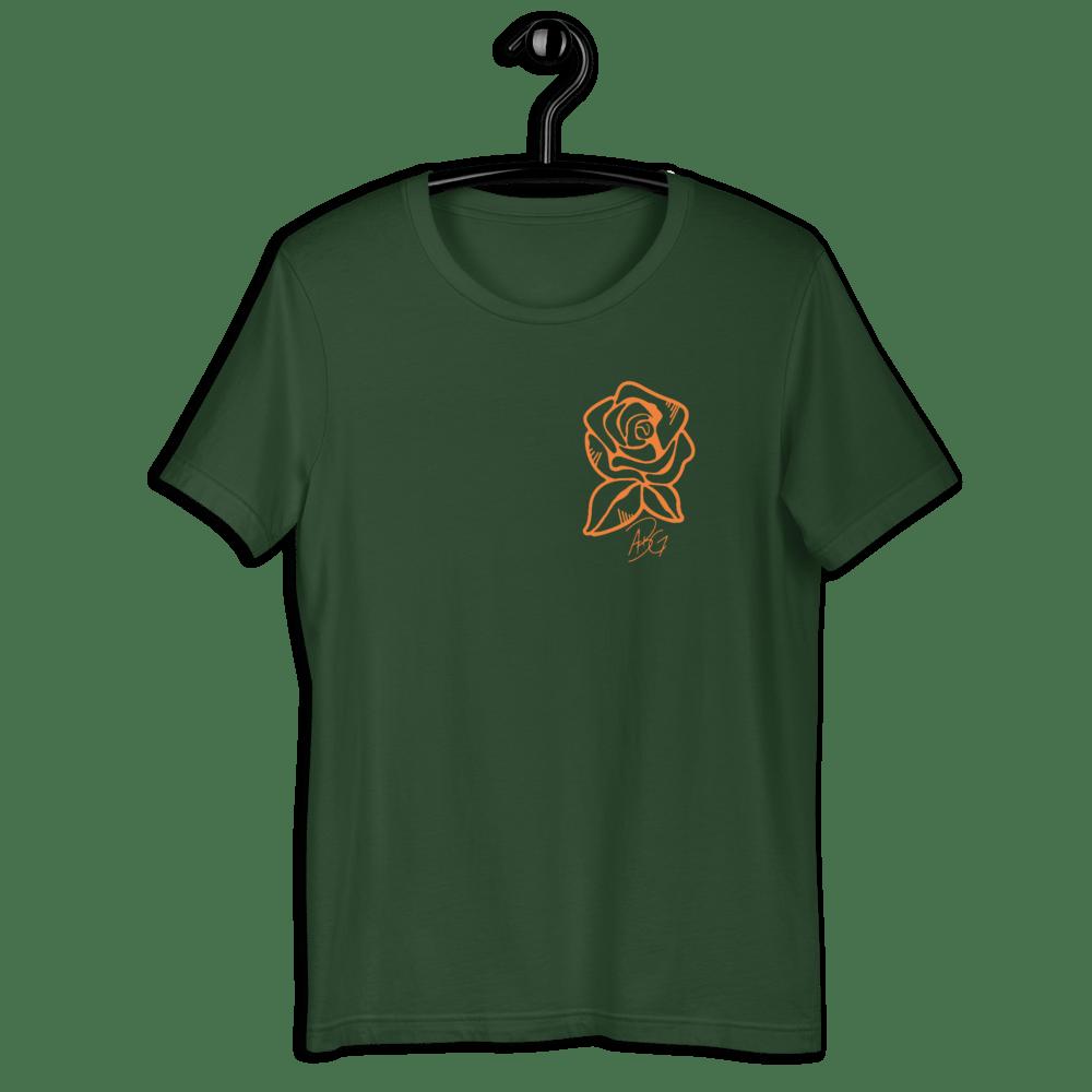 Image of Concrete Rose Seawood Green T-shirt