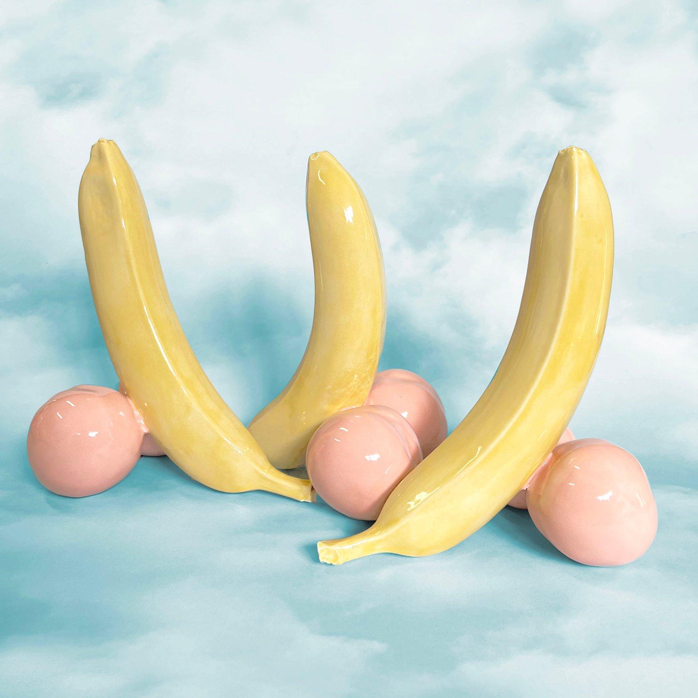 Image of Banana & Peaches Sculpture