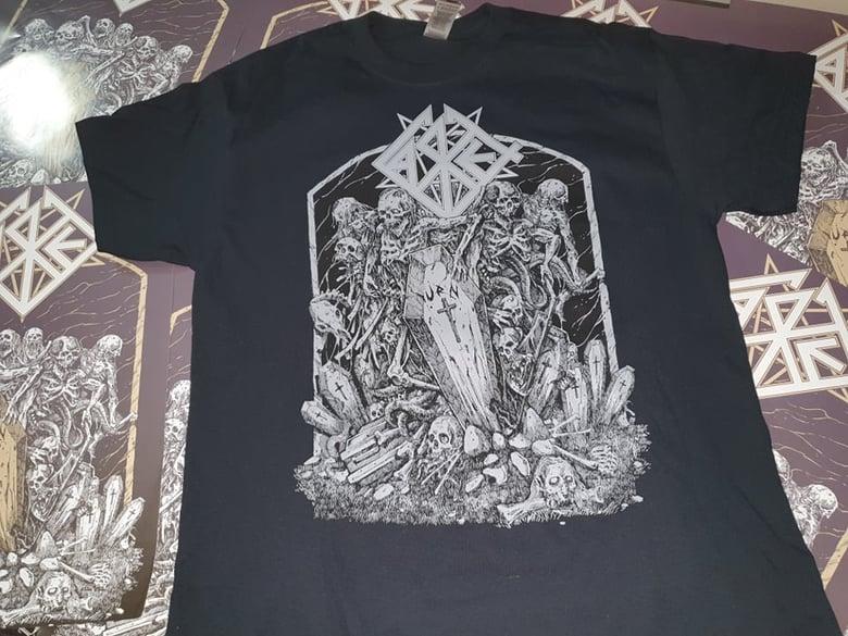 Image of Casket - Urn 30 Years Anniversary Shirt Black