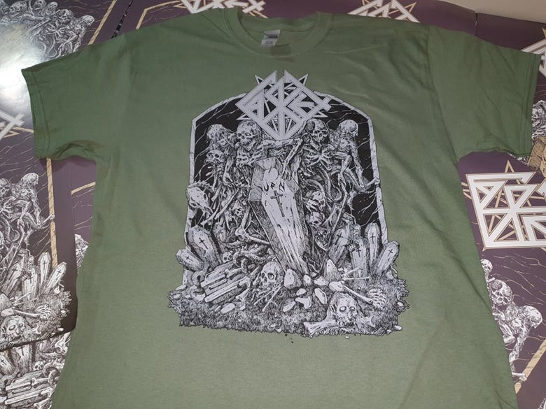 Image of Casket - Urn 30 Years Anniversary Green