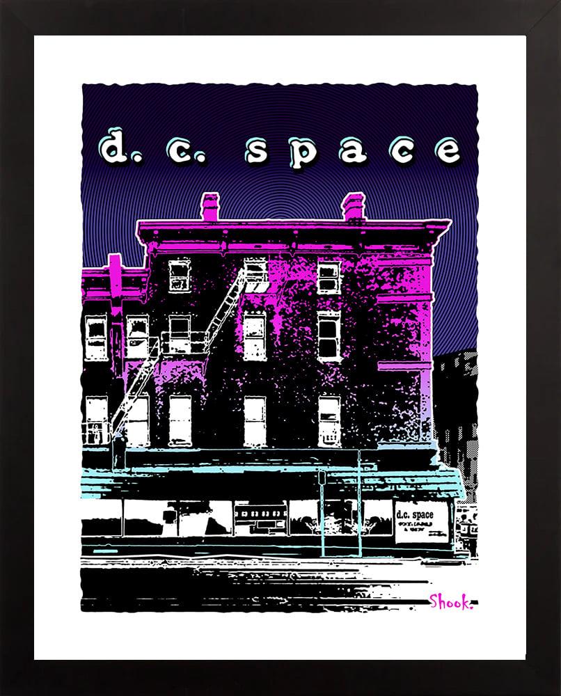 DC Space, Washington DC Giclée Art Print (Multi-size options)