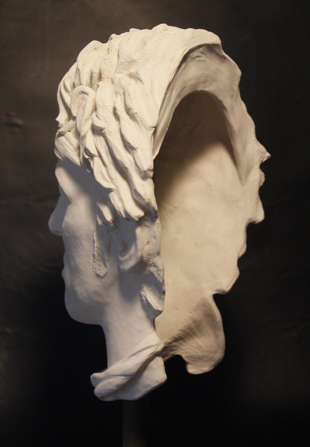 Bruce Springsteen White Clay Sculpture (Iconic Headband)