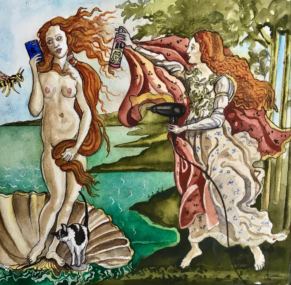 Image of 'The Makeover of Venus' Bridget Time Travelling