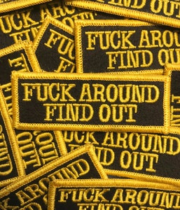 Image of Find Out Patch