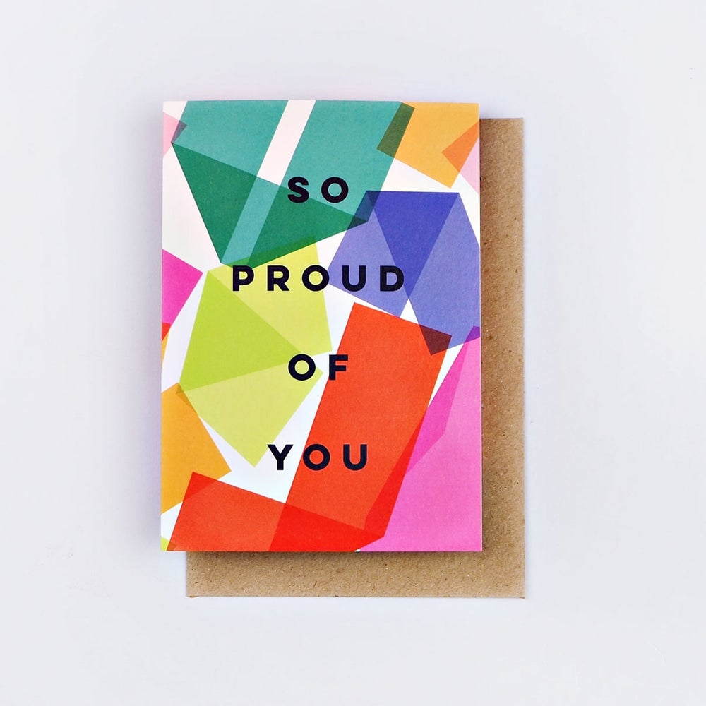 Image of So Proud of You Card