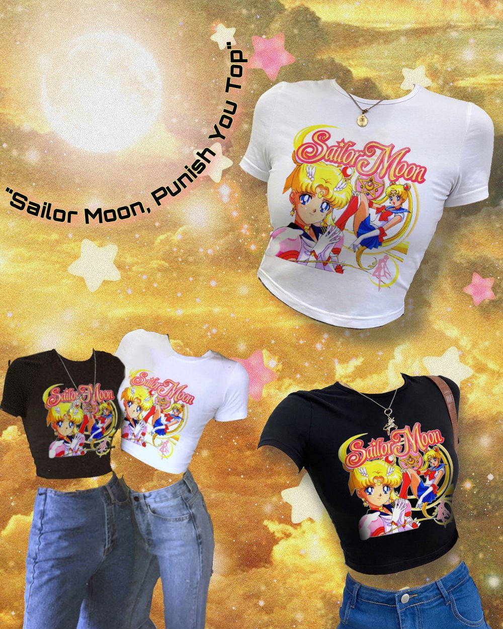 Image of Sailor Moon, Punish You Top