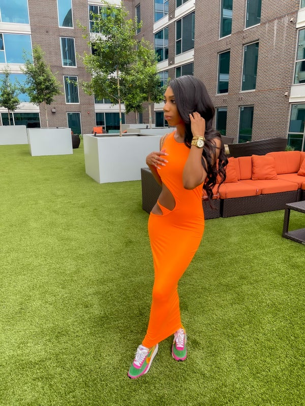 Image of Orange | Dress