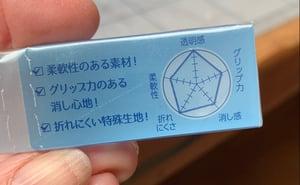 NEW: Japanese 'Clear Radar' Erasers