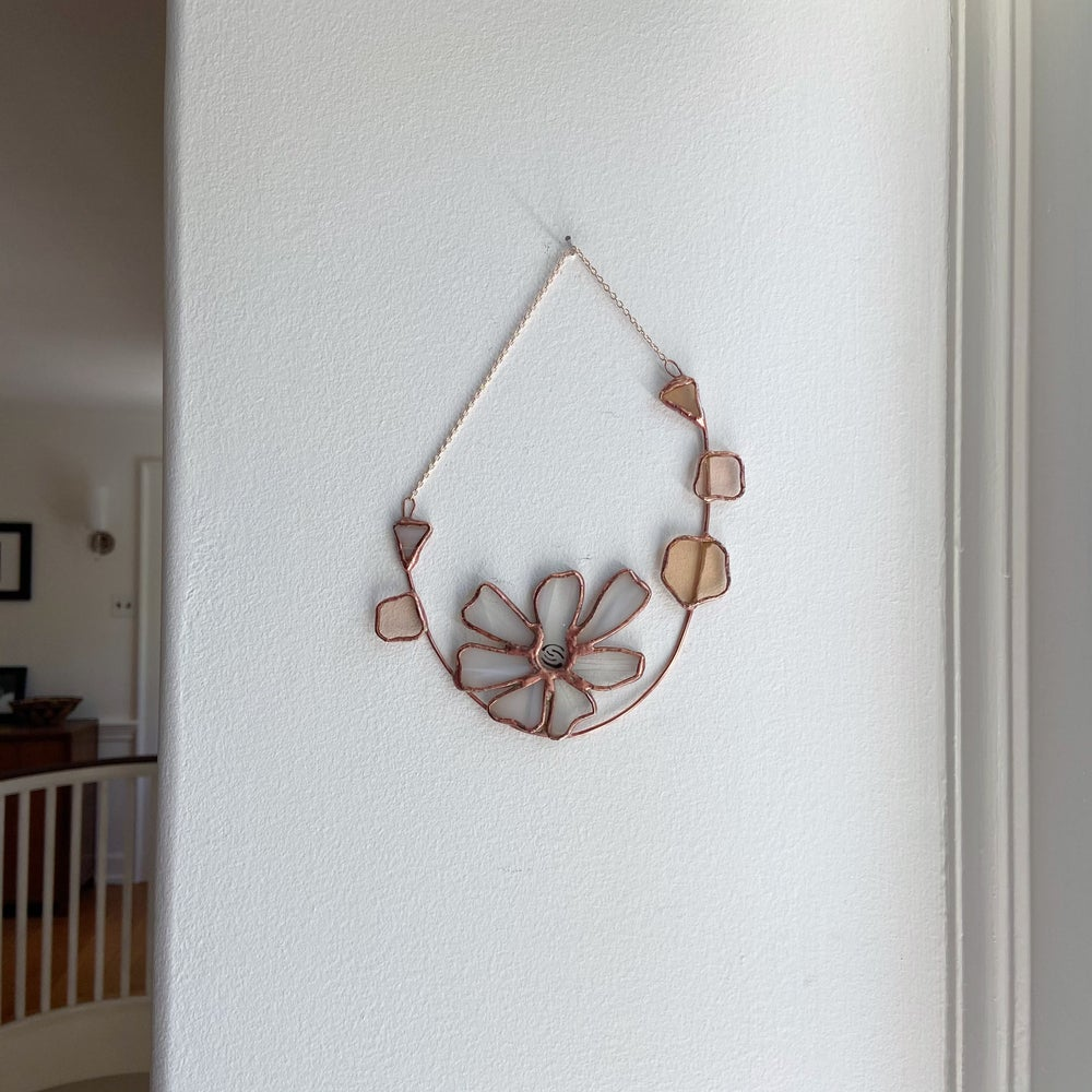 Image of Pink Floral Hanging