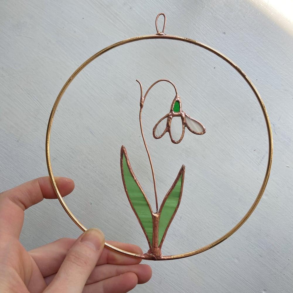 Image of Snowdrop Wreath no.4