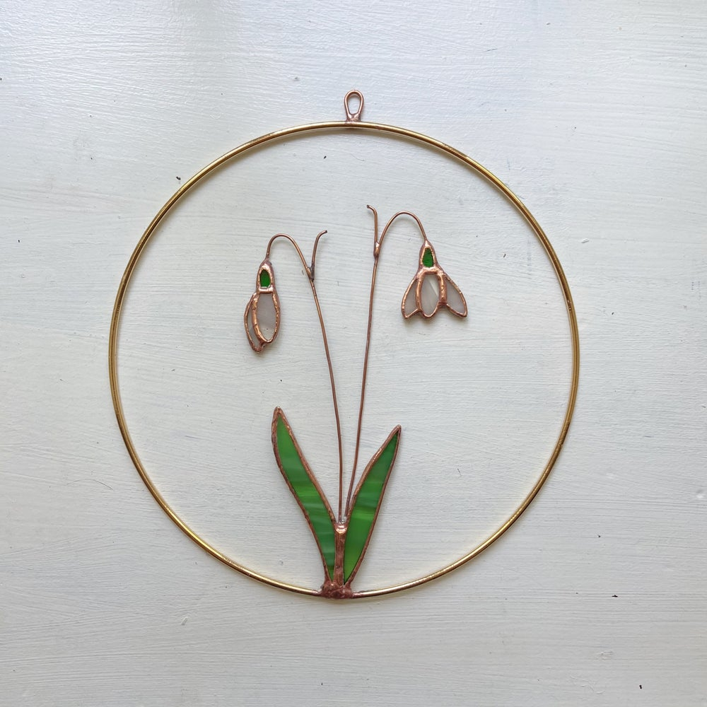 Image of Snowdrop Wreath no.5